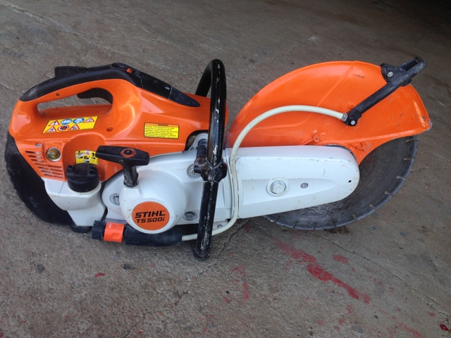 Stihl TS 500i Fuel Injection 14 inch Concrete or Hot saw