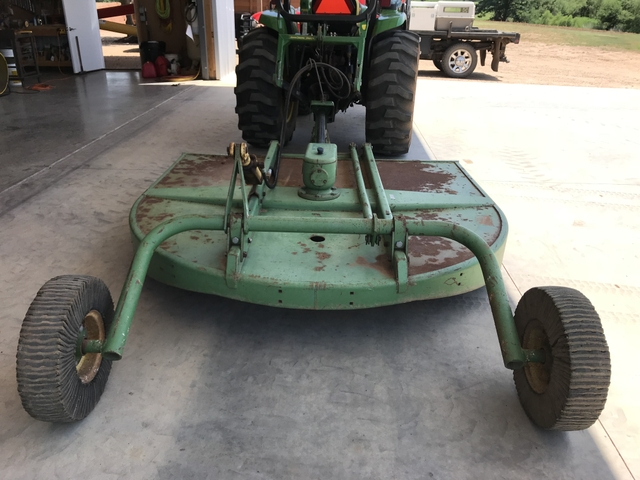 SOLD - John Deere 709 Rotary Cutter (7' Brush Hog) - Price Reduced!