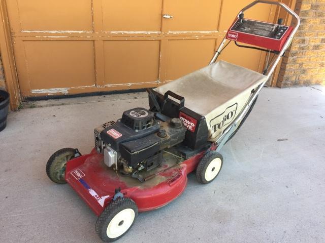 SOLD - Toro self-propelled mower