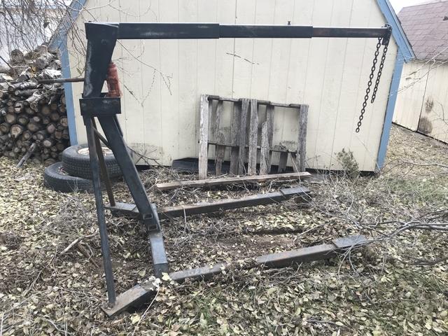 building an engine hoist