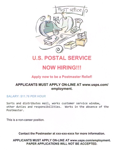 Postmaster Relief (PMR)
