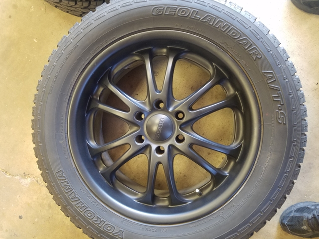Sold Chevy 20 Inch Black Wheels And Tires For Silverado Tahoe Sub